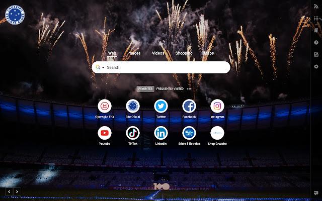 Cruzeiro New Tab