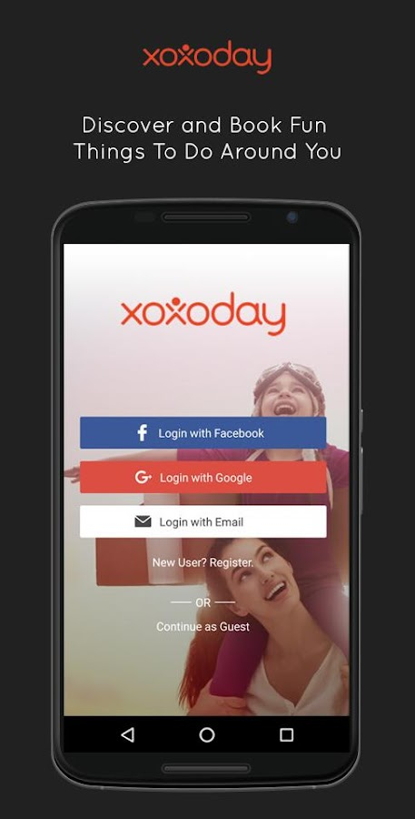 Xoxoday - Discover Activities- screenshot
