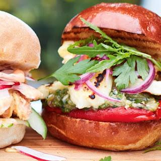 Greek-Style Vegie Burgers Recipe