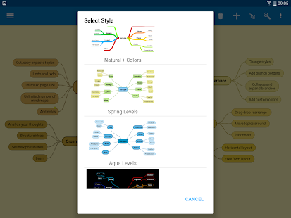SimpleMind Free - Intuitive Mind Mapping- screenshot thumbnail