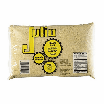 Julia Cassava Flour Roasted