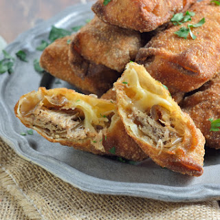 Pulled Pork and Smoked Gouda Egg Rolls Recipe
