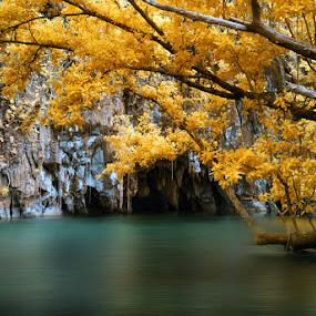 Underground River by Boyet Lizardo - Landscapes Travel