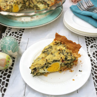 Egg & Swiss Chard Italian Easter Pie
