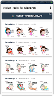 App Stiker Betawi WAStickerApps APK for Windows Phone