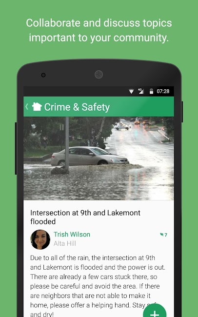 #3. Nextdoor (Android)