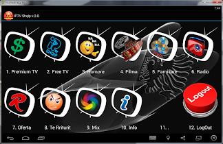 IPTV Shqip - screenshot thumbnail 01