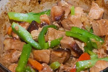Pork Essentials: Spicy Onion/Pepper Stew