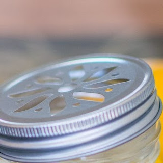 Mango Cheesecake in a Jar