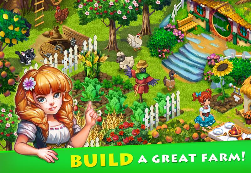 Farmdale - farm village simulator Screenshot 14
