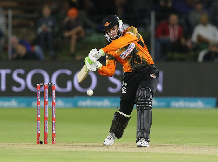 Bright prospect: Opening batsman Marco Marais of Nelson Mandela Bay Giants is fairly unknown but already has a world record under his belt. Picture: RICHARD HAGGARD/GALLO IMAGES