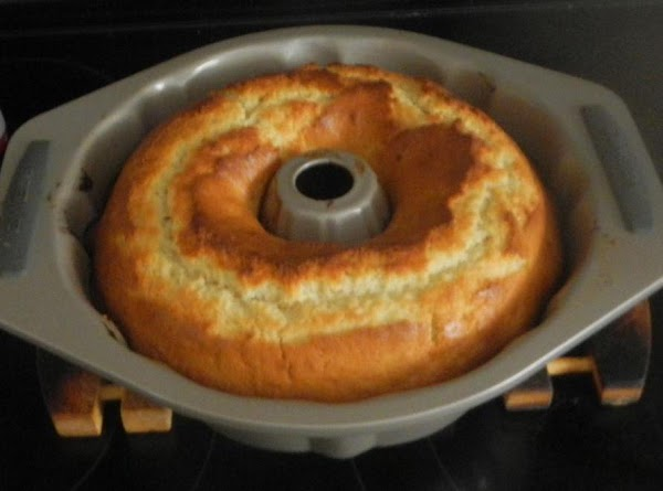 Heat the oven to 350F.Pour batter into the cake pan.  Bake for 55...