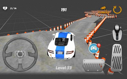 警察の駐車場シミュレータ3D