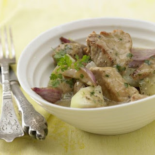 Veal Stew with Kohlrabi