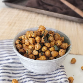 Roasted Garlic-Parsley Chickpeas.