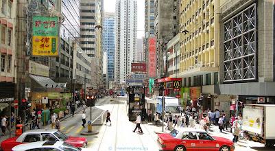 Photo: Sheung Wan street Hong Kong