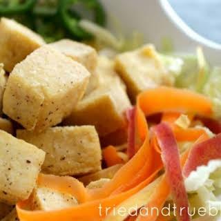 Crispy Salt & Pepper Tofu.