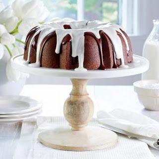 Triple-Chocolate Buttermilk Pound Cake