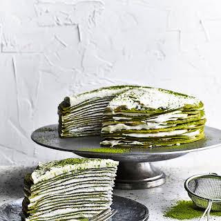 Matcha Mille Crêpe Cake.