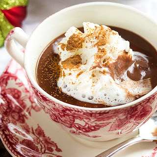 Cinnamon Infused Thick Italian Hot Chocolate (Cioccolata Calda) Recipe