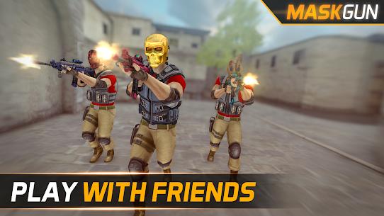 MaskGun ® – Multiplayer FPS 2.172 MOD (Unlimited Ammo) 2