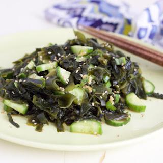 Paleo Seaweed and Cucumber Salad