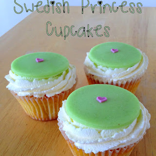 Swedish Princess Cupcakes (Gluten Free)
