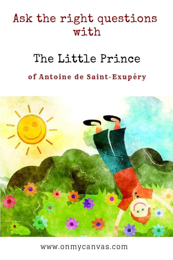 relearn the basic principles with the little prince or le petit prince pinterest image