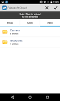 Screenshot of Fabasoft Cloud