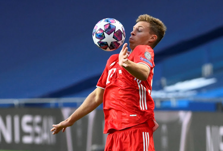 Bayern Munich's Joshua Kimmich in a past action,