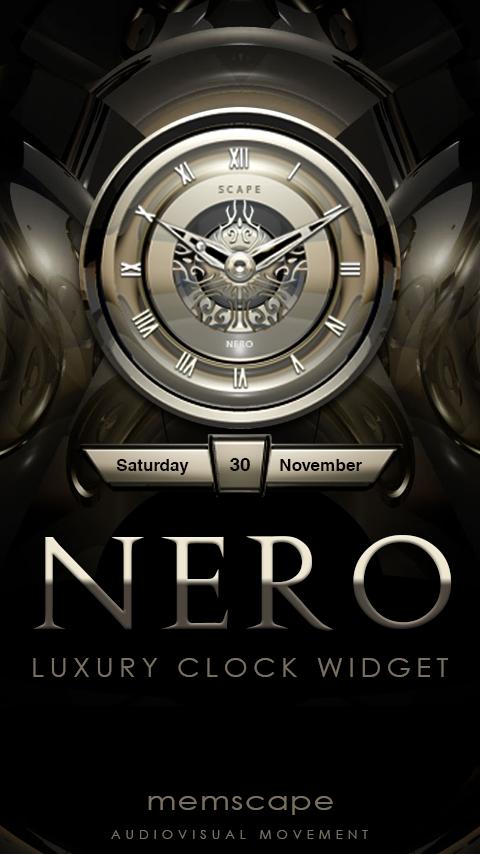 how to add clock in nova launcher