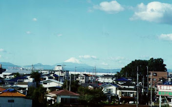 Photo: View from train windows in Japan