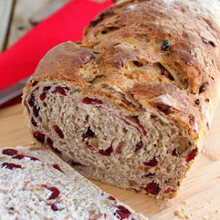 Cranberry-Walnut Oat Bread