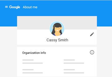 Edit profile details, but not organization info