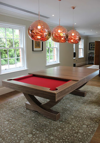 Duel Purpose Pool Table with Removable Dining Tops