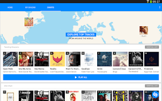 Screenshot of Shazam Encore
