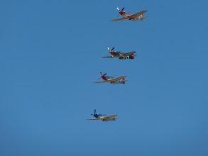 Photo: Mustangs in formation II