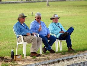 Photo: David Hannah, Gary Brothes, and Ed Rains       2013-1116 RPW