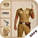 Boys Police Suit Photo Editor - Men Police Photo icon