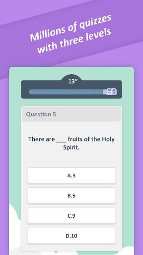 Bible Trivia Quiz - Free Bible Game 1.3.0 screenshots 2