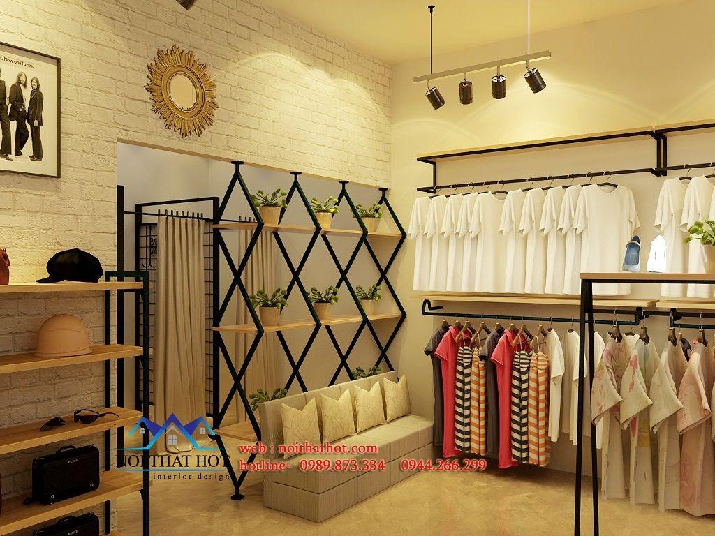 thiết kế shop thời trang nữ sang trọng
