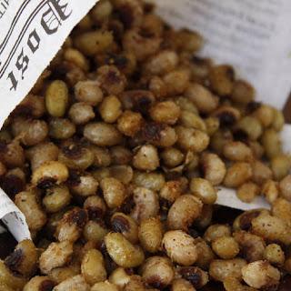 Seasoned Deep-Fried Black-Eyed Peas