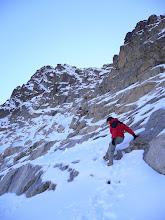Photo: Un peu avant le sommet...nous n'irons pas plus loin.