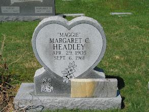 """Photo: Headley, Margaret C. """"Maggie"""""""