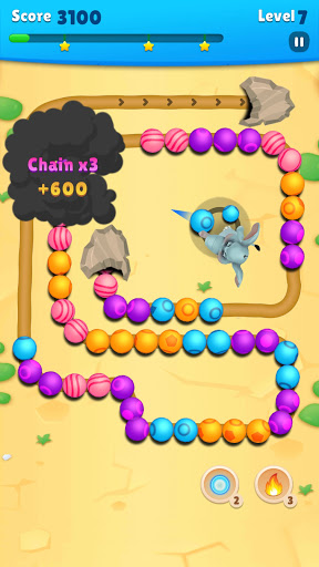 Marble Wild Friends screenshot 4