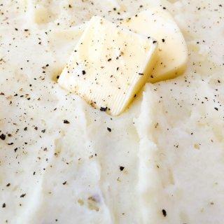 Homemade Mashed Potatoes.
