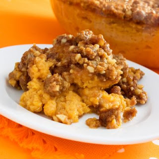 Slow-Cooked Sweet Potato Crumble Casserole