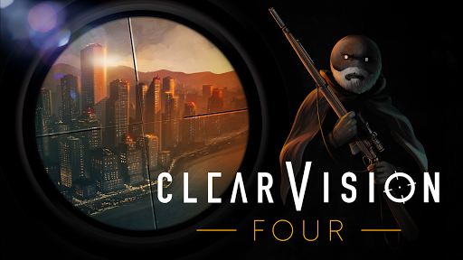 Télécharger Clear Vision 4 - Brutal Sniper Game APK MOD (Astuce) screenshots 1
