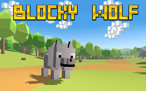 Blocky Wolf Simulator