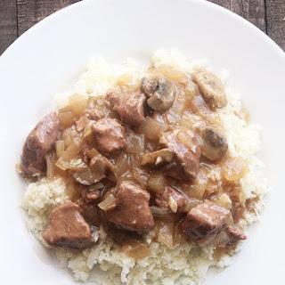Paleo Beef Stroganoff Crock Pot